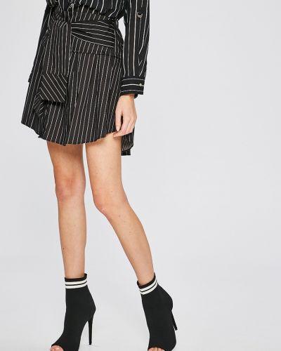 Черная юбка облегающая Answear