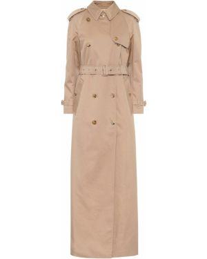 Długi płaszcz klasyczny z gabardyny Burberry