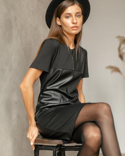 Кожаное платье Valentina
