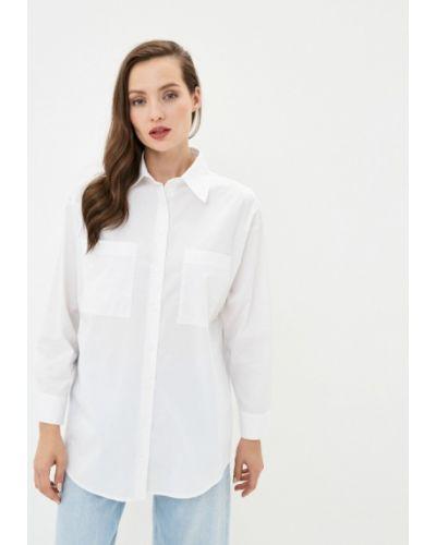 Базовая с рукавами белая рубашка Base Forms