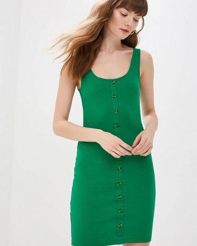 Платье платье-майка зеленый Modis