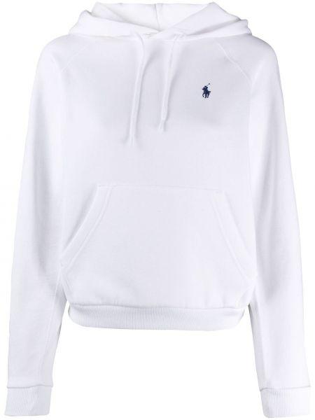 Bawełna z rękawami biały koszulka polo z kieszeniami Polo Ralph Lauren