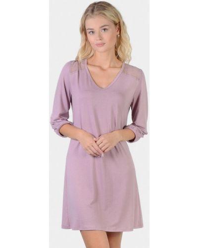 Фиолетовое домашнее платье N.el.