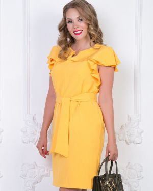 Летнее платье с поясом платье-сарафан Diolche