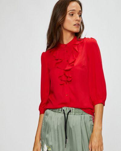 Блузка прямая с рукавом 3/4 с длинным рукавом Silvian Heach