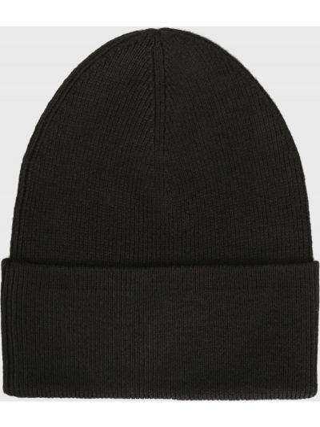 Кашемировая шапка - черная Tommy Hilfiger
