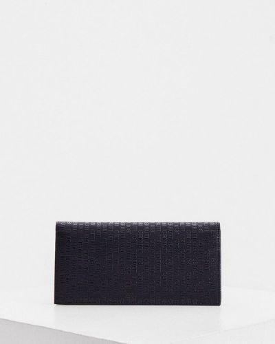 Кожаный черный портмоне Cerruti 1881
