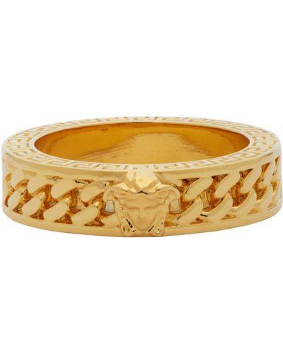 Цепь золотая Versace