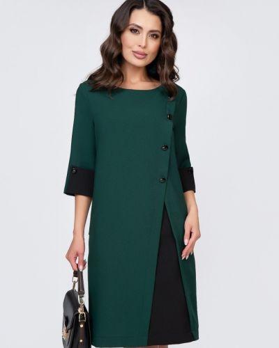 Платье на пуговицах со вставками Belluche