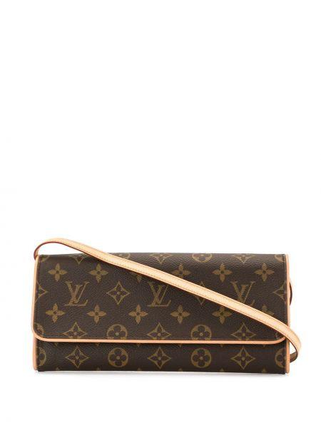 Skórzana torebka crossbody z nadrukiem Louis Vuitton Pre-owned
