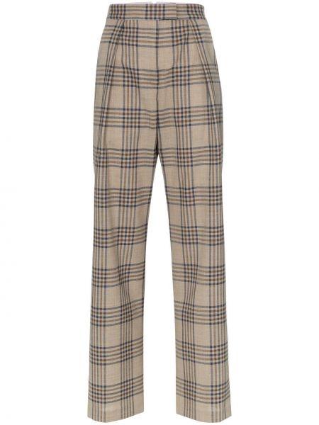 Прямые брюки с воротником Wright Le Chapelain