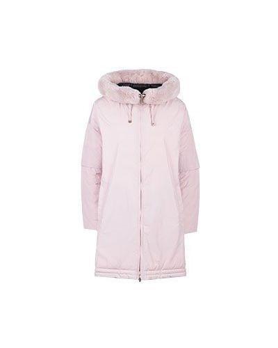 Розовое пальто Diego M