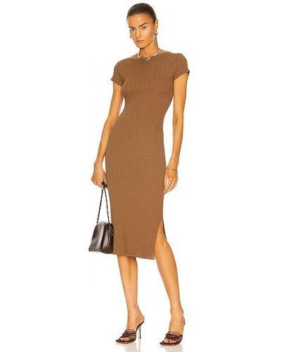 Шелковое платье Enza Costa