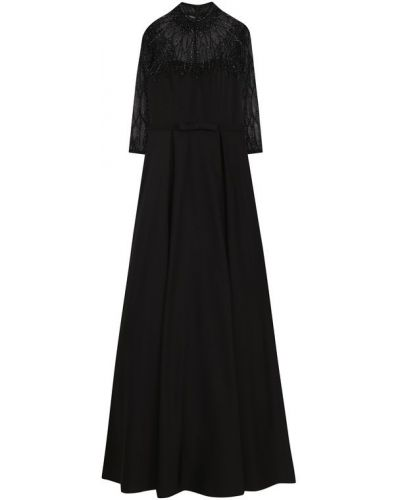 Вечернее платье мини с поясом приталенное Basix Black Label
