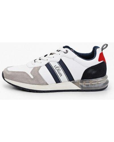 Кожаные низкие кроссовки S.oliver