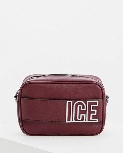 Сумка через плечо кожаный Ice Play