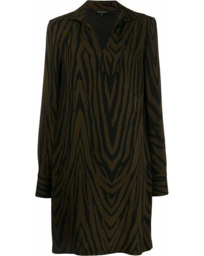 Платье макси с V-образным вырезом платье-рубашка Antonelli