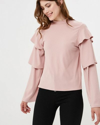 Розовая блузка с длинным рукавом Lost Ink.