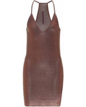 Платье мини с завышенной талией Rick Owens