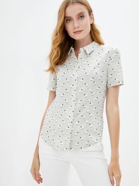 Серая рубашка с коротким рукавом Profito Avantage