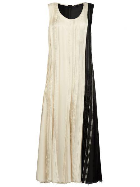 Платье на молнии - бежевое Joseph