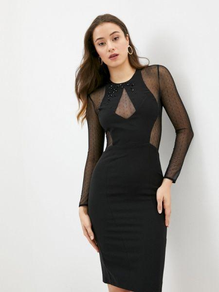 Вечернее платье черное весеннее Raimaxx