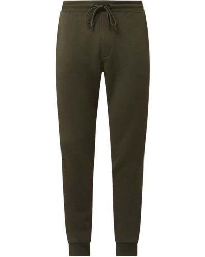 Zielone spodnie dresowe bawełniane Mcneal