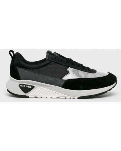 Черные текстильные кроссовки Diesel