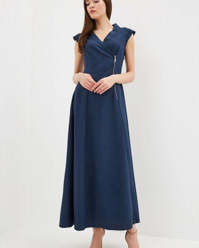 Платье - синее Rosso-style