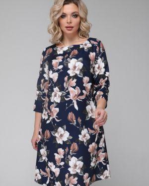 Платье платье-сарафан синее Ellcora