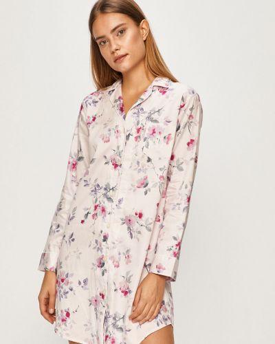 Рубашка с поясом свободного кроя Lauren Ralph Lauren
