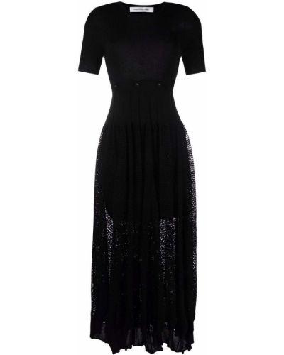 Платье мини короткое - черное Christopher Esber