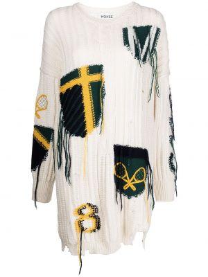 Платье макси длинное - белое Monse