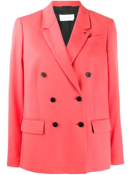 Розовый пиджак Calvin Klein