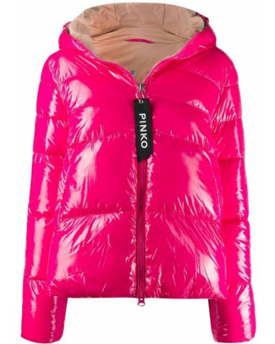 Куртка с капюшоном укороченная с карманами Pinko