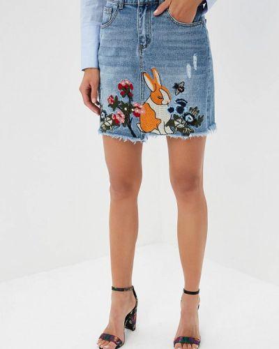 Джинсовая юбка Miss Bon Bon