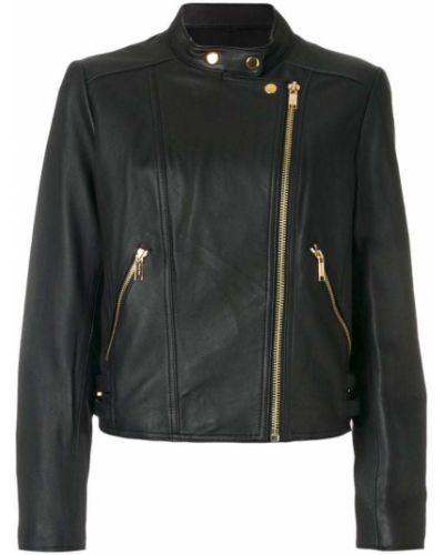 Кожаная куртка байкерская на молнии Michael Michael Kors