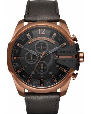 Zegarek czarny brązowy Diesel