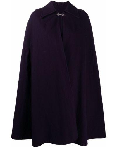 Фиолетовый шерстяной кейп винтажный A.n.g.e.l.o. Vintage Cult