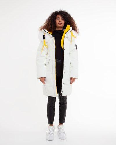 Куртка с капюшоном - белая Towmy