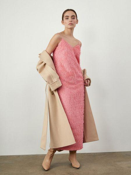 Платье миди с открытой спиной 12storeez