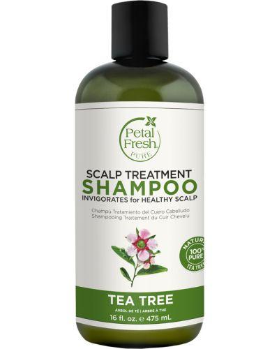 Шампунь для волос кожаный чайный Petal Fresh