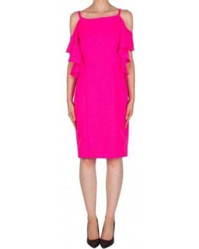 Różowa sukienka bez rękawów Joseph Ribkoff