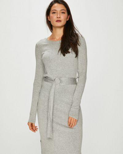 Платье миди с длинными рукавами прямое Vero Moda