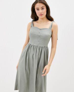 Платье платье-сарафан зеленый Remix