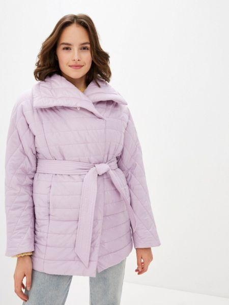 Фиолетовая утепленная куртка Odri Mio