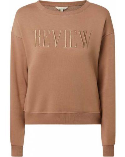 Beżowa bluza bawełniana Review