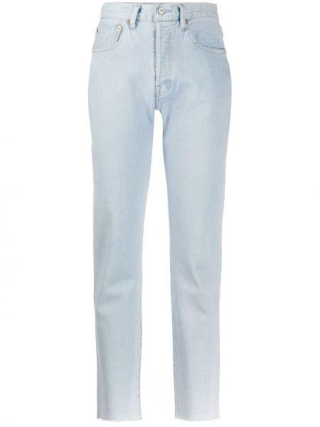 Прямые джинсы укороченные с поясом Levi's Made & Crafted