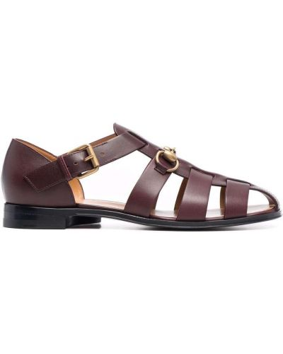 Sandały skórzane Gucci