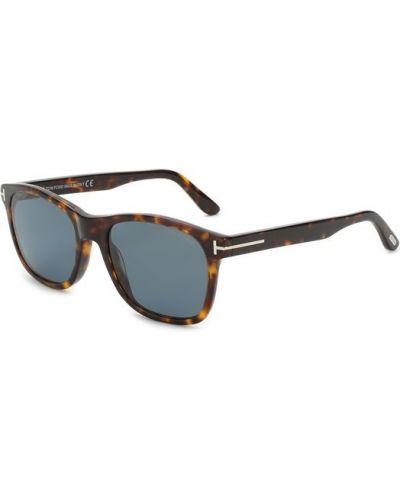 Солнцезащитные очки коричневый стеклянные Tom Ford